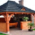 drewniana altanka